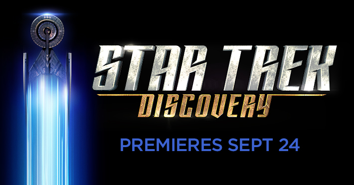 STAR TREK: DISCOVERY to launch Sunday, September 24